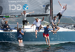 Final days' racing at the Silvers Marine Scottish Series 2016, the largest sailing event in Scotland organised by the  Clyde Cruising Club<br /> <br /> Racing on Loch Fyne from 27th-30th May 2016<br /> <br /> Class 1, winner, GBR7737R, Aurora, Rod Stuart / A Ram, CCC, Corby 37<br /> <br /> Credit : Marc Turner / CCC<br /> For further information contact<br /> Iain Hurrel<br /> Mobile : 07766 116451<br /> Email : info@marine.blast.com<br /> <br /> For a full list of Silvers Marine Scottish Series sponsors visit http://www.clyde.org/scottish-series/sponsors/