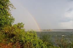 Rainbow Along The Zambezi River