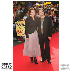 Co-writer Philippa Boyens walks the red carpet at the King Kong Premiere, at Wellington's Embassy Theatre.