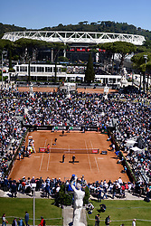 May 16, 2019 - Roma, Italia - Foto Alfredo Falcone - LaPresse.16/05/2019 Roma ( Italia).Sport Tennis.Internazionali BNL d'Italia 2019.Naomi Osaka (jpn) vs Dominika Cibulkova (svk).Nella foto:una veduta del pietrangeli..Photo Alfredo Falcone - LaPresse.16/05/2019 Roma (Italy).Sport Tennis.Internazionali BNL d'Italia 2019.Naomi Osaka (jpn) vs Dominika Cibulkova (svk).In the pic: (Credit Image: © Alfredo Falcone - Lapresse.&Quot/Lapresse via ZUMA Press)