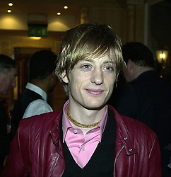 Musician CRISPIAN MILLS grandson of actor Sir John Mills, at a party in London on 24th February 2000.OBO 71