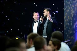 Marlon Pack speaks during the Bristol Sport annual Gala Dinner at Ashton Gate Stadium - Mandatory by-line: Dougie Allward/JMP - 14/12/2017 - Sport - Ashton Gate - Bristol, England - Bristol Sport Gala Dinner