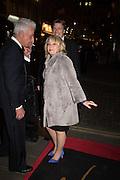ELAINE PAIGE; NICKY HASLAM, Nicky Haslam hosts dinner at  Gigi's for Leslie Caron. 22 Woodstock St. London. W1C 2AR. 25 March 2015