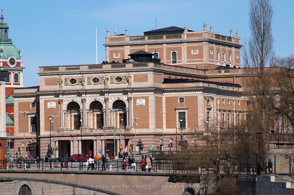 Kungliga Operan, The Royal Swedish Opera House. Norrmalm. Stockholm. Sweden, Europe.
