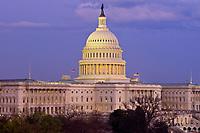 United States Capitol at dusk, Washington D.C., U.S.A.
