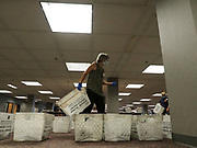 The City of Milwaukee's absentee ballots and envelopes are sorted, processed and scanned at the Central Count location. A voter and a witness both must sign the ballot envelope and include the address of the witness for that absentee ballot to count - safeguards put in place to eliminate voter fraud.