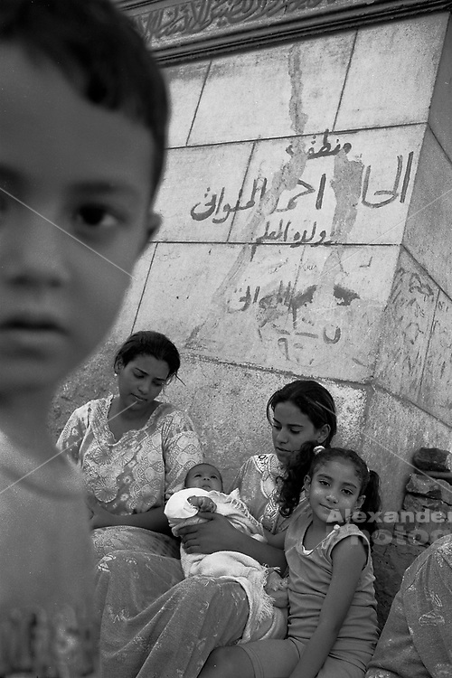 City of the Dead, Cairo - Young family