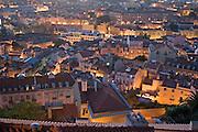 View of Lisbon from Graça.<br /> Vista de Lisboa al atardecer desde Graça.