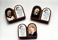 San Giovanni Rotondo.Souvenir di  Padre Pio.San Giovanni Rotondo.Souvenirs of Padre Pio