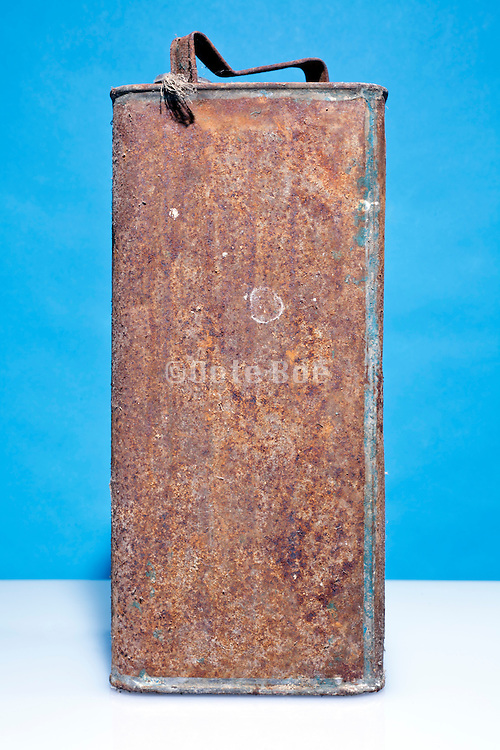 old rusty jerry can