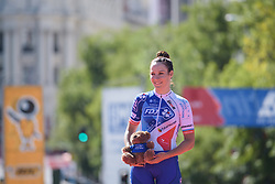 Roxane Fournier finishes third at Madrid Challenge by la Vuelta 2017 - a 87 km road race on September 10, 2017, in Madrid, Spain. (Photo by Sean Robinson/Velofocus.com)