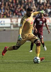 October 22, 2017 - Turin, Italy - Salvatore Sirigu during Serie A match between Torino v Roma, in Turin, on October 22, 2017  (Credit Image: © Loris Roselli/NurPhoto via ZUMA Press)