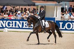 Helgstrand Andreas, DEN, Revolution<br /> World Championship Young Dressage Horses - Ermelo 2019<br /> © Hippo Foto - Dirk Caremans<br /> Helgstrand Andreas, DEN, Revolution