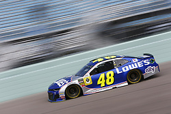 November 17, 2018 - Homestead, Florida, U.S. - Jimmie Johnson (48) takes to the track to practice for the Ford 400 at Homestead-Miami Speedway in Homestead, Florida. (Credit Image: © Justin R. Noe Asp Inc/ASP)