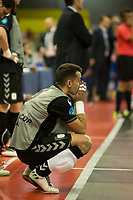 Inter FS's player during UEFA Futsal Cup 2015/2016 Final match. April 22,2016. (ALTERPHOTOS/Acero)