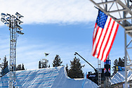 Kokomo Murase during Women's Snowboard Big Air Finals at 2021 X Games Aspen in Aspen, CO. ©Brett Wilhelm/ESPN