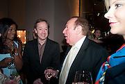 GEORDIE GREIG; ANDREW NEIL, Spectator Life - launch party, Asprey London, 167 New Bond Street, London. 28 March 2012