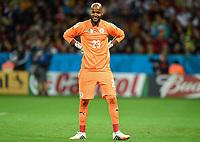 Fotball<br /> Tyskland v Algerie<br /> 30.06.2014<br /> VM 2014<br /> Foto: Witters/Digitalsport<br /> NORWAY ONLY<br /> <br /> Torwart Rais M'Bohli (Algerien)<br /> Fussball, FIFA WM 2014 in Brasilien, Achtelfinale, Deutschland - Algerien
