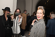 ALICE TEMPERLEY; SERAFINA SAMA; CHARLOTTE DELLAL, Vogue100 A Century of Style. Hosted by Alexandra Shulman and Leon Max. National Portrait Gallery. London. WC2. 9 February 2016.