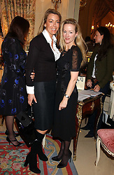 Left to right, GRAINNE STEPHENSON and ALISON HENRY at a ladies lunch in aid of the NSPCC held at The Ritz, Piccadilly, London on 7th March 2006.<br />