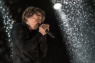 German singer-songwriter Philipp Poisel at Haldern Pop Festival