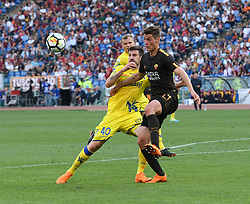 April 28, 2018 - Rome, Italy - Patrik Schick during the Italian Serie A football match between A.S. Roma and Chievo at the Olympic Stadium in Rome, on april 28, 2018. (Credit Image: © Silvia Lore/NurPhoto via ZUMA Press)