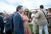 PIERS MORGAN; CELIA WALDEN, Cartier International Polo Day at the Guards Polo Club. Windsor. July 26  2009