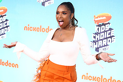 LOS ANGELES, CA, USA - MARCH 23: Nickelodeon's 2019 Kids' Choice Awards held at the USC Galen Center on March 23, 2019 in Los Angeles, California, United States. 23 Mar 2019 Pictured: Jennifer Hudson. Photo credit: Xavier Collin/Image Press Agency / MEGA TheMegaAgency.com +1 888 505 6342