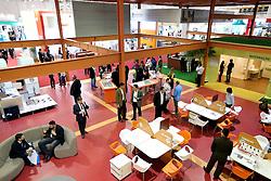 Hospital contemporâneo na HOSPITALAR 2013 - 20ª Feira Internacional de Produtos, Equipamentos, Serviços e Tecnologia para Hospitais, Laboratórios, Clínicas e Consultórios, que acontece de 21 a 24 de maio de 2013, no Expo Center Norte, em São Paulo. FOTO: Jefferson Bernardes/Preview.com