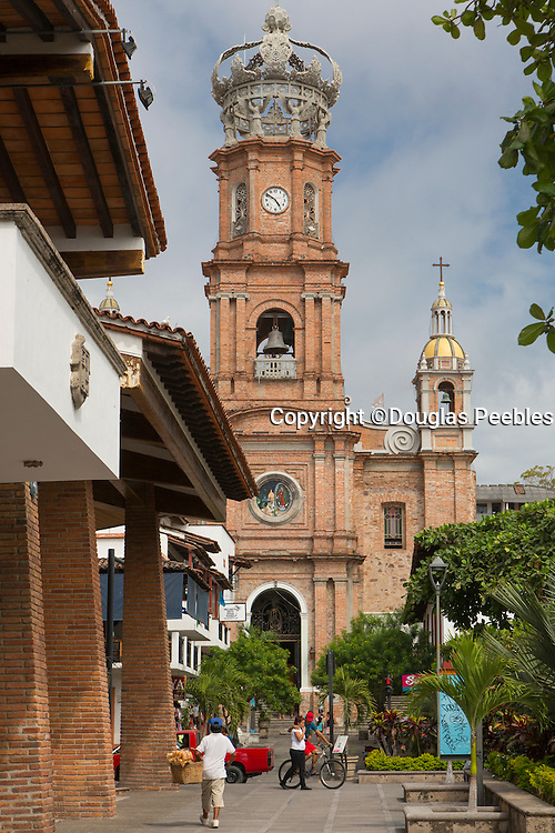 Church of Our Lady of Guadalupe ( La Iglesia de Nuestra Senora de Guadalupe), Puerto Vallarta, Jalisco, Mexico