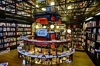 France, Pyrénées-Atlantiques (64), Pays Basque, Biarritz, librairie Bookstore // France, Pyrénées-Atlantiques (64), Basque Country, Biarritz, Bookstore bookstore