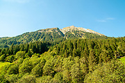 Alpine Landscape, Stubai Alps, Tyrol, Austria