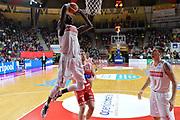 DESCRIZIONE : Varese Lega A 2015-16 Openjobmetis Varese vs Consultinvest Pesaro<br /> GIOCATORE : Mouhammad Faye<br /> CATEGORIA : Schiacciata sequenza<br /> SQUADRA : Openjobmetis Varese<br /> EVENTO : Campionato Lega A 2015-2016<br /> GARA : Openjobmetis Varese Consultinvest Pesaro<br /> DATA : 18/10/2015<br /> SPORT : Pallacanestro <br /> AUTORE : Agenzia Ciamillo-Castoria/I.Mancini<br /> Galleria : Lega Basket A 2015-2016  <br /> Fotonotizia : Openjobmetis Varese  Lega A 2015-16 Openjobmetis Varese vs Consultinvest Pesaro<br /> Predefinita :