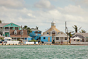 The loyalist village of New Plymouth Green Turtle Cay, Bahamas.
