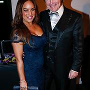 NLD/Amsterdam/20121206 - VIP night Masters of LXRY, Erwin Ketman en partner Sheila Bergeijk