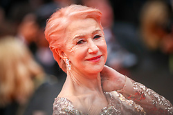 """Dame Helen Mirren attend the screening of """"Les Plus Belles Annees D'Une Vie"""" during the 72nd annual Cannes Film Festival on May 18, 2019 in Cannes, France. Photo by Shootpix/ABACAPRESS.COM"""