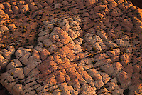 Rock formations in the Fiery Furnace of Arches National Park