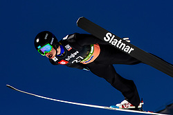 Sergey Tkachenko (KAZ) during the Trial Round of the Ski Flying Hill Individual Competition at Day 1 of FIS Ski Jumping World Cup Final 2019, on March 21, 2019 in Planica, Slovenia. Photo by Matic Ritonja / Sportida