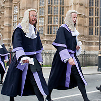 London Oct 1st The start of the legal year is marked by a procession of judges arriving at Westminster Abbey from the Royal Courts of Justice in  The Strand for a religious service, followed by the Lord Chancellor's 'breakfast' at Westminster Hall in the  Houses of Parliament.       ..History..The service in Westminster Abbey dates back to the Middle Ages when judges prayed for guidance at the start of the legal term. Judges, whose courts were held in Westminster Hall, left the City and walked to the Abbey to take part in the service..Before the Reformation it was customary to fast for several hours before taking communion during the service. After the ceremony the Lord Chancellor would offer the judge some food to break their fast before they took their seats in courts, hence the term 'breakfast'.
