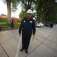 Clean up workers in Liberty Park, Salt Lake City