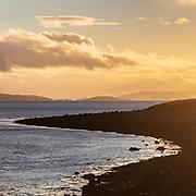 Last light, Kingairloch II, Highland, Scotland.