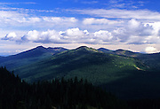 Overlooking the Northwest Peak Scenic Area from Mount Baldy. Purcell Mountains in the Kootenai National Forest, northwest Montana
