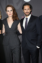 November 14, 2016 - New York, New York, United States - Actors Michelle Dockery and Juan Diego Botto arriving at the premiere of 'Good Behavior' at the Roxy Hotel on November 14, 2016 in New York City  (Credit Image: © Nancy Rivera/Ace Pictures via ZUMA Press)