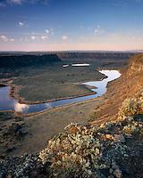 Dry Falls Coulee Washington USA