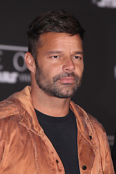 Celebrity arrivals at the world premiere of Walt Disney Pictures and Lucasfilm's 'Rogue One: A Star Wars Story' at the Pantages Theatre in Hollywood, California. 11 Dec 2016 Pictured: Ricky Martin. Photo credit: @parisamichelle / MEGA TheMegaAgency.com +1 888 505 6342