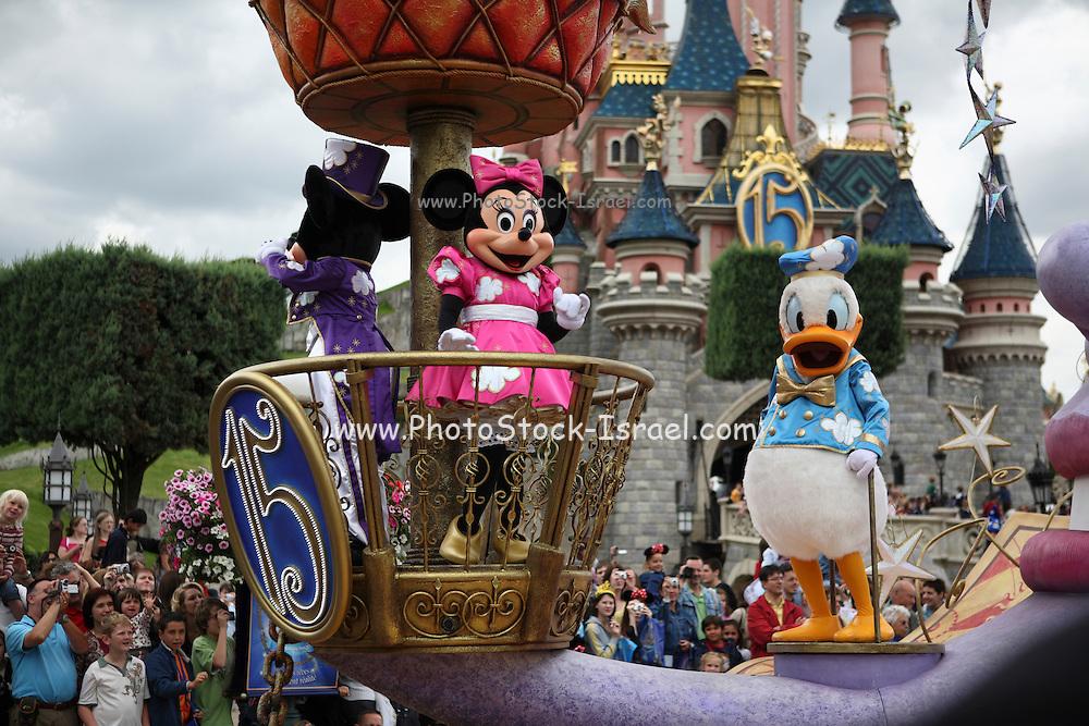 France, Paris, Euro Disney, entertainment park,
