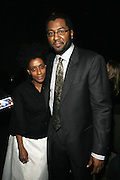l to r: Joi Lee and Malcom Lee at The ImageNation celebration for the 20th Anniversary of ' Do the Right Thing' held Lincoln Center Walter Reade Theater on February 26, 2009 in New York City. ..Founded in 1997 by Moikgantsi Kgama, who shares executive duties with her husband, Event Producer Gregory Gates, ImageNation distinguishes itself by screening works that highlight and empower people from the African Diaspora.