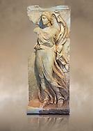Photo of Roman relief sculpture, Aphrodisias, Turkey, Images of Roman art bas reliefs from the mauseleum of Julius Zoilus.