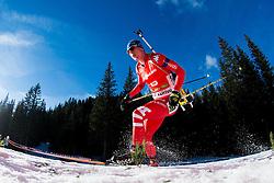 HOFER Lukas (ITA) competes during Men 12,5 km Pursuit at day 3 of IBU Biathlon World Cup 2014/2015 Pokljuka, on December 20, 2014 in Rudno polje, Pokljuka, Slovenia. Photo by Vid Ponikvar / Sportida
