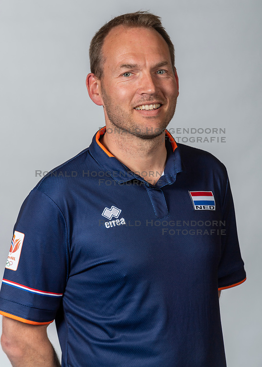 10-05-2018 NED: Team shoot Dutch volleyball team women, Arnhem<br /> Manager Marc de Haan